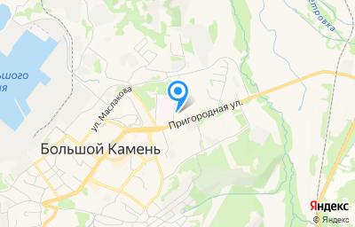 Местоположение на карте пункта техосмотра по адресу Приморский край, г Большой Камень, ул Коммунальная