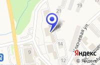 Схема проезда до компании КАФЕ ОФИЦЕРСКОЕ в Фокине