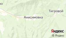 Гостиницы города Анисимовка на карте