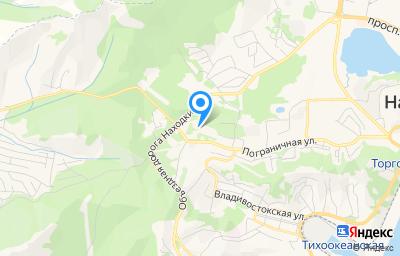 Местоположение на карте пункта техосмотра по адресу Приморский край, г Находка, ул Пограничная, зд 104