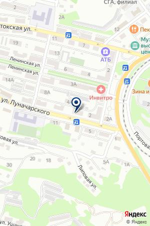 АБСОЛЮТ на карте Находки