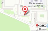 Схема проезда до компании УЮТ в Константиновской