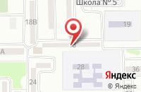 Схема проезда до компании Гостиница в Исаково