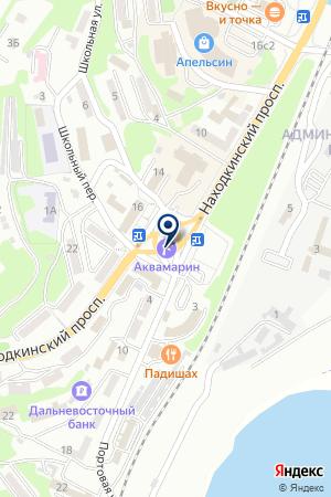 SAYTUM.RU на карте Находки