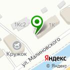 Местоположение компании Адвокатский кабинет Елисеенко М.А.