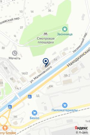 АВТОМАГАЗИН АВТО на карте Находки