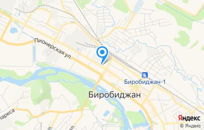 Местоположение на карте пункта техосмотра по адресу г Биробиджан, ул Шолом-Алейхема, д 40