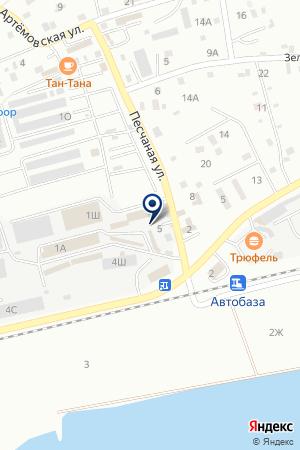 Атон на карте Находки