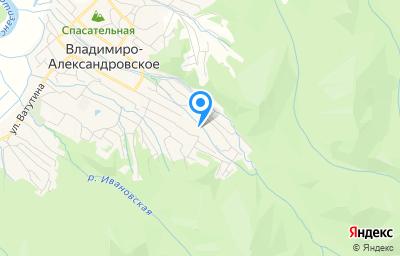 Местоположение на карте пункта техосмотра по адресу Приморский край, с Владимиро-Александровское, ул Лазо, д 125А