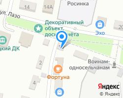 Схема местоположения почтового отделения 692976