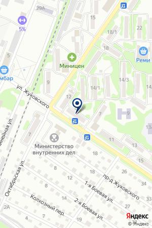 АВТОМАГАЗИН СИГНАЛ на карте Арсеньева