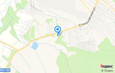 Местоположение на карте пункта техосмотра по адресу Приморский край, г Арсеньев, ул Стахановская, д 78