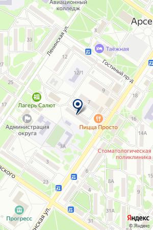 АВТОМАГАЗИН МАЛЕНЬКАЯ ЯПОНИЯ на карте Арсеньева