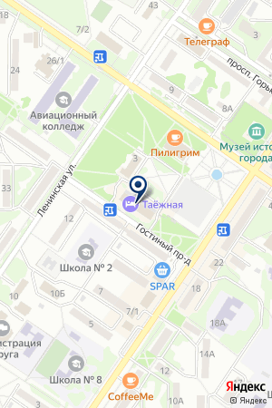 АРСЕНЬЕВСКИЙ ФИЛИАЛ ОСАО ПИРАМИДА на карте Арсеньева