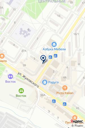 АПТЕКА № 212 ФАРМАЦИЯ на карте Арсеньева