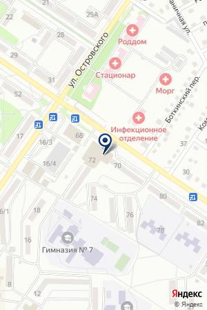 АВТОМАГАЗИН ЮНИКАР на карте Арсеньева