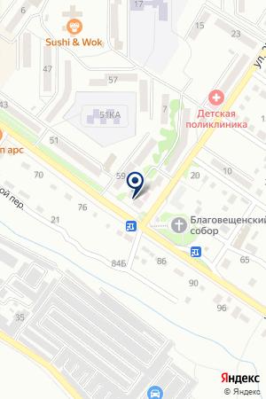 АПТЕКА ФАРМАЦИЯ №120 на карте Арсеньева