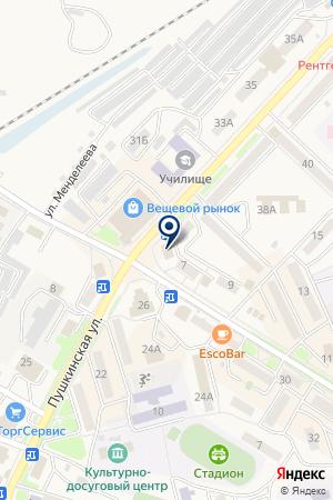 ГУ ЦЕНТР ГОССАНЭПИДНАДЗОРА ГОРОДСКОЙ на карте Лесозаводска