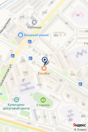 ЛЕСОЗАВОДСКИЙ ФИЛИАЛ СТРАХОВАЯ МЕДИЦИНСКАЯ ОРГАНИЗАЦИЯ ВОСТОЧНО-СТРАХОВОЙ АЛЬЯНС на карте Лесозаводска