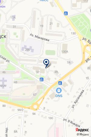 ГУ УПРАВЛЕНИЕ ПО Г. ЛЕСОЗАВОДСК ПЕНСИОННЫЙ ФОНД РФ на карте Лесозаводска