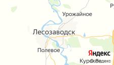 Отели города Лесозаводск на карте