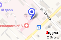 Схема проезда до компании ЦЕНТР ГОССАНЭПИДНАДЗОРА НА ЖЕЛЕЗНОДОРОЖНОМ ТРАНСПОРТЕ ЛЕСОЗАВОДСКИЙ в Лесозаводске