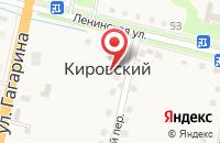 Схема проезда до компании САЛОН ОКОН ЗАХАРОВ в Кировском