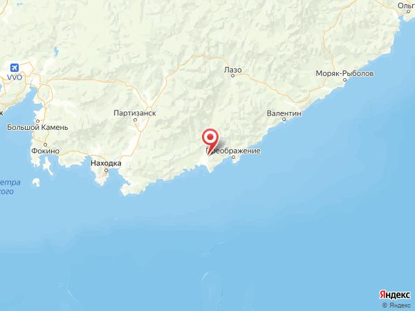 село Киевка на карте