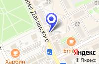 Схема проезда до компании МАГАЗИН ИРИНА в Дальнереченске
