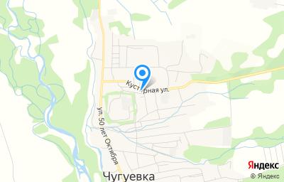 Местоположение на карте пункта техосмотра по адресу Приморский край, с Чугуевка, ул Кустарная, д 28А