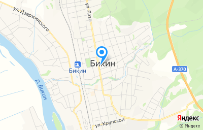 Местоположение на карте пункта техосмотра по адресу Хабаровский край, г Бикин, ул Тигровая, д 4