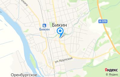 Местоположение на карте пункта техосмотра по адресу Хабаровский край, г Бикин, ул Лазо, д 100