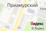 Схема проезда до компании Ника в Приамурском
