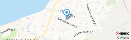Дальгеофизика на карте Хабаровска