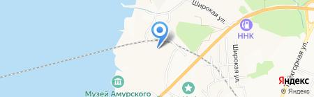Тымрос на карте Хабаровска