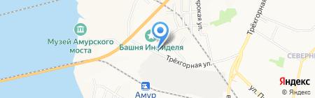 СкладОфис-ДВ на карте Хабаровска