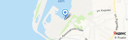 Такелаж на карте Хабаровска