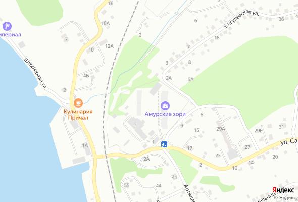жилой комплекс Амурские зори по улице Салтыкова–Щедрина
