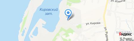 Стрежень на карте Хабаровска