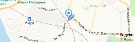 Премиум-3 на карте Хабаровска