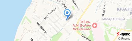 СТАНДАРТ на карте Хабаровска
