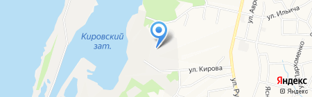 Дизель-ДВ на карте Хабаровска