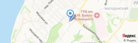 Зоомир на карте Хабаровска