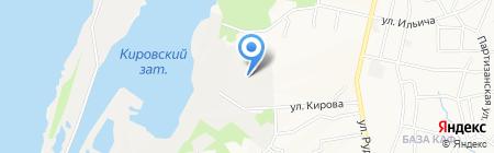 Дальмет на карте Хабаровска