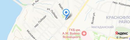 БЭСТО на карте Хабаровска