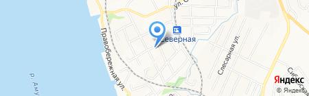 Восток Сталь Монтаж на карте Хабаровска