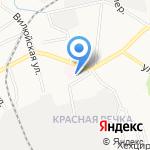 Городская поликлиника №15 на карте Хабаровска