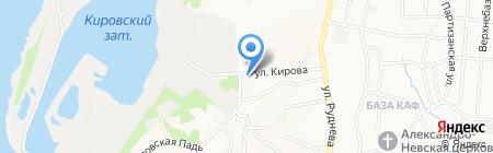 Алмаз-Технология на карте Хабаровска