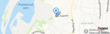 Шарм на карте Хабаровска