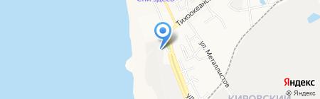 Созвездие на карте Хабаровска